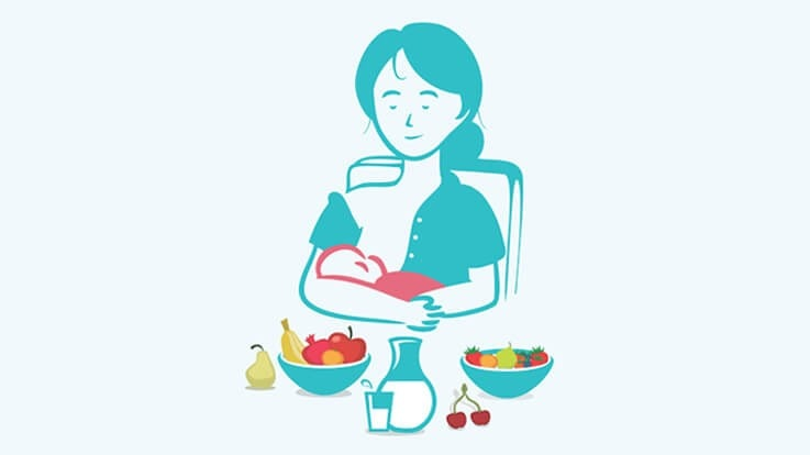 Breastfeeding nutrition tips for lactating mothers. What to eat when breastfeeding