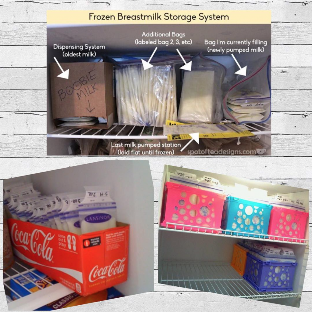 frozen breast milk stash. Best breastfeeding tips for moms