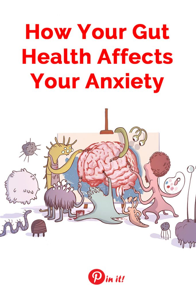 Want to improve your mental health and manage anxiety? Improve your gut first! Here's how your gut health affects your anxiety and the facts may surprise you! | Anxiety relief
