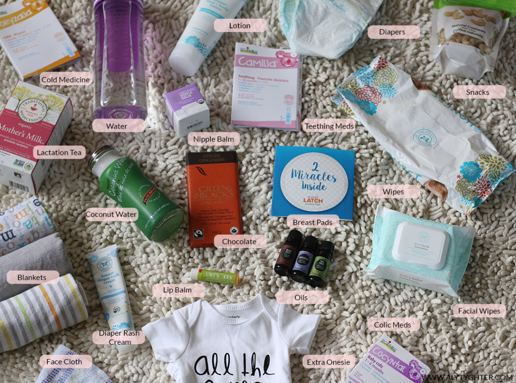 The ultimate checklist for breastfeeding basket essentials. Breastfeeding tips and tricks for new moms