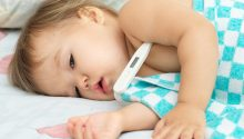 8 smart ways to break Toddler fever #flu #fever #sickbaby