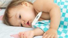 8 smart ways to break Toddler fever #flu #fever #sickbaby