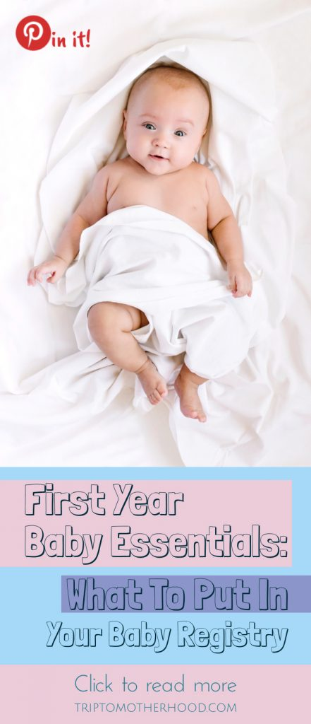 Must Have Baby Items for The First Year. #newbornessentials #babyproducts #babyregistry #firsttimemoms #musthavebabyitems #newmoms